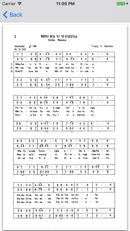 Tongan Hymns 2