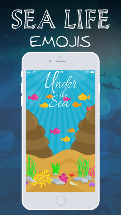 Sea Life Emojis screenshot one