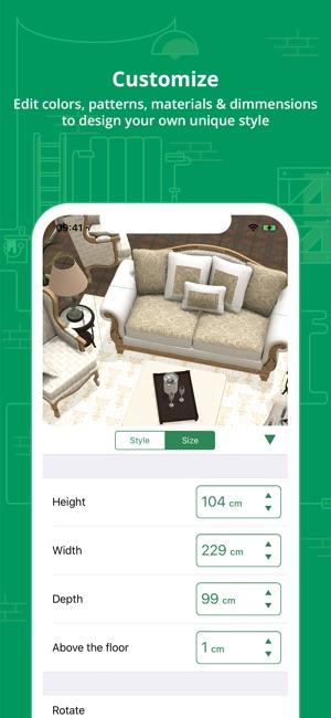 Innendesigner Schweiz planner5d innendesign planer im app store