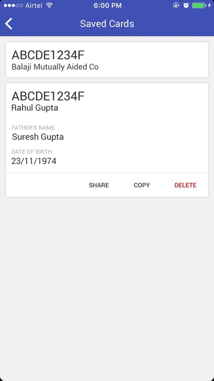 PAN Card Search, Scan, Appln Status & link Aadhaar screenshot-3