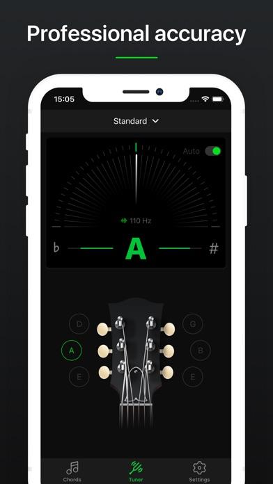 Guitar Tuner Pro, Bass,Ukulele screenshot 3