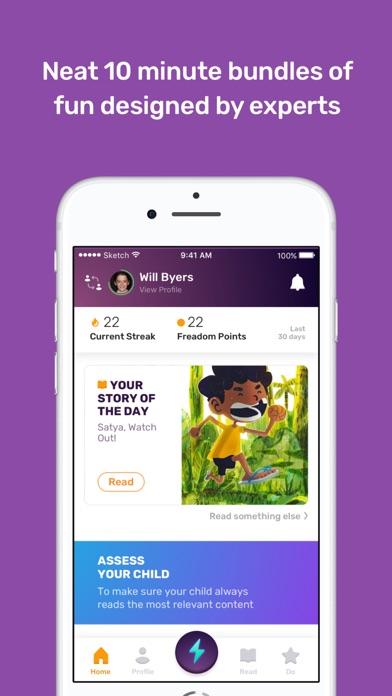 Freadom - Read.Play.Go Screenshot
