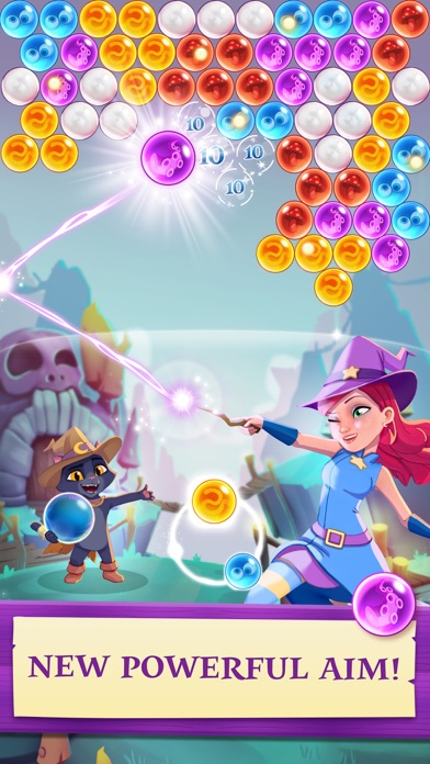 Bubble Witch 3 Saga Screenshots