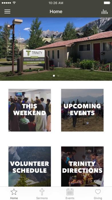 Trinity Bible Church   Canmore screenshot 1