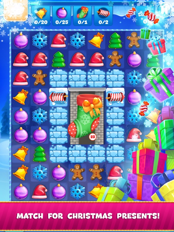 Christmas Sweeper 3 на iPad