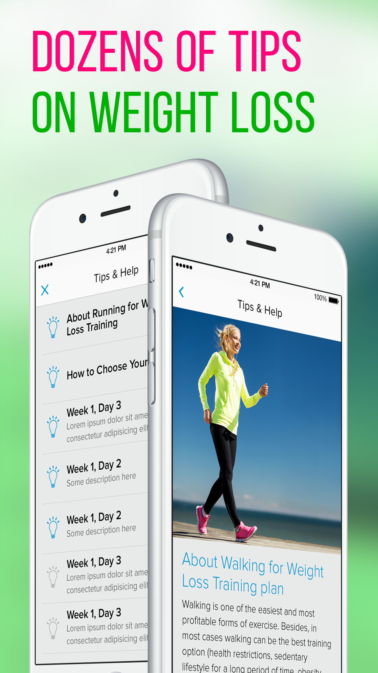 Walking for Weight Loss Screenshot