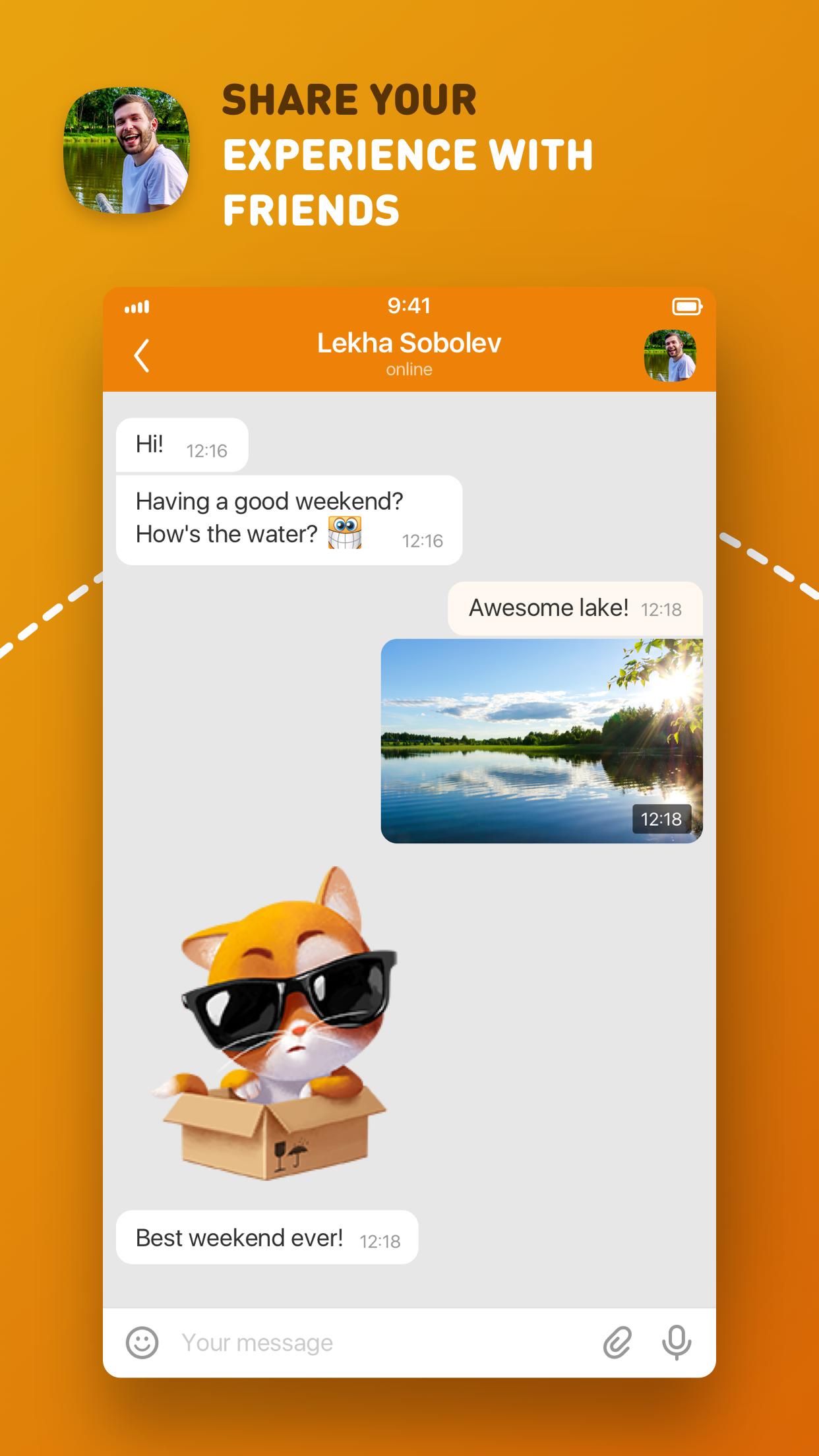 ОК – a social network Screenshot
