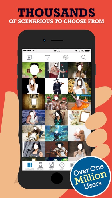 FACEinHOLE® Screenshots