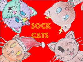 Let your friends know how you feel with a Sock Cat