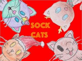 Sock Cat Stickers