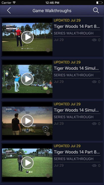Game Net for - Tiger Woods PGA Tour 14 screenshot-3