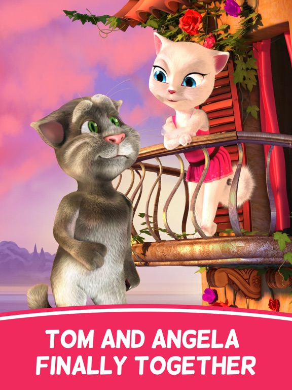 Tom Loves Angela for iPad Screenshots