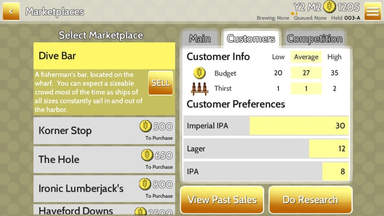 Fiz: Brewery Management Game screenshot-4