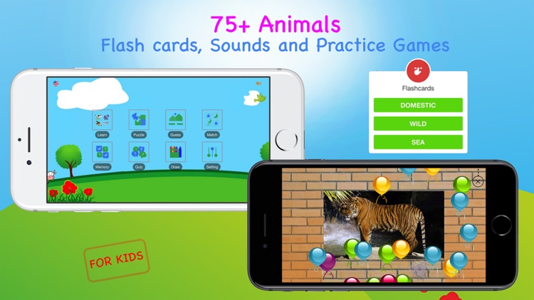 Animal Sounds Puzzles for Kids