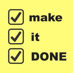 make it DONE