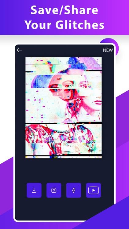 Glitch Video Photo 3D Effect.s screenshot-6