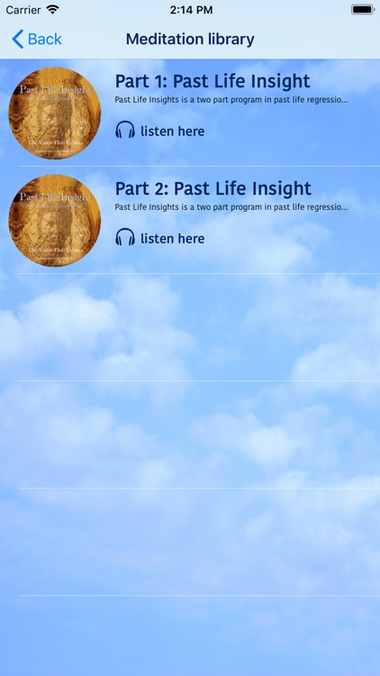 Past Life Meditation screenshot-2