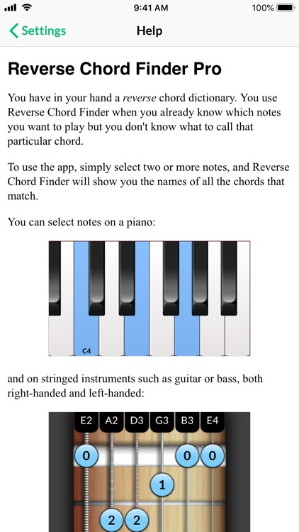 Reverse Chord Finder Pro screenshot-6