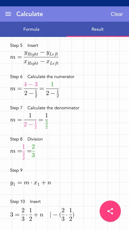 Solving Linear Equation PRO