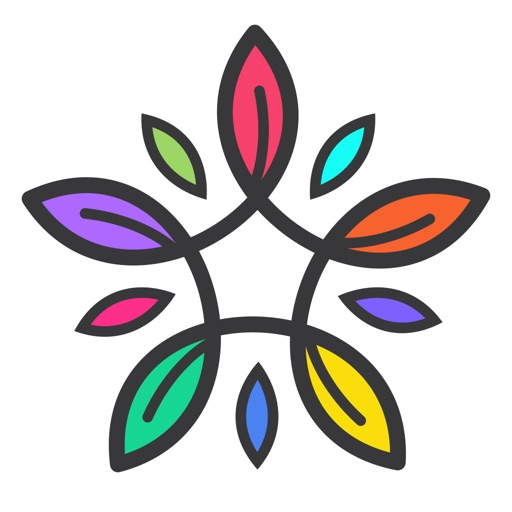 Coloring Book For Adults App Logo