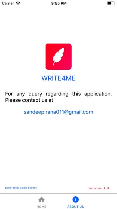 Write4Me - Voice to Text,Story screenshot 2