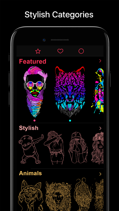 COLOR - Coloring Book Screenshot
