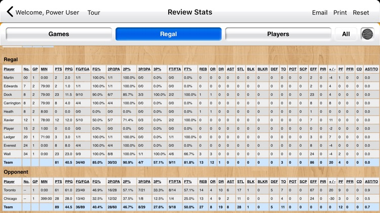 Basketball Stat Tracker Live screenshot-5