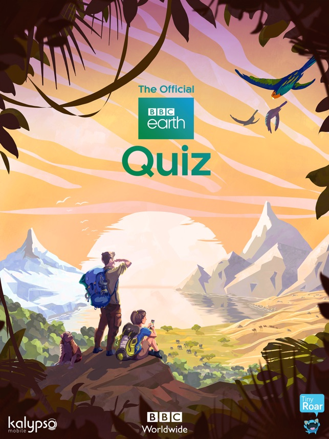 BBC Earth Quiz Available now from the App Store Image