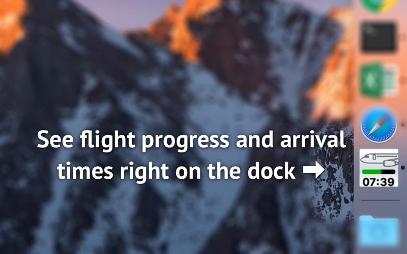 Flight status tracker скриншот программы 2