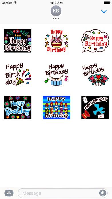 Animated Happy Birthday screenshot 2