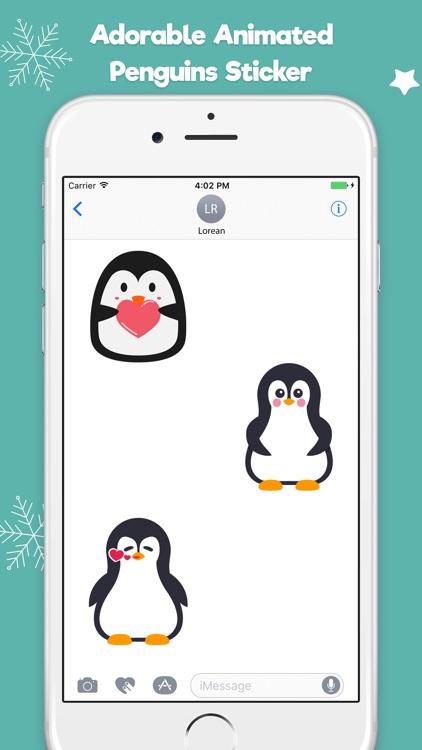 Penguin Stickers Animated screenshot-3