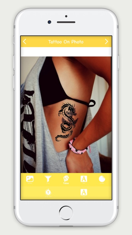 Tattoo On Photo screenshot-3