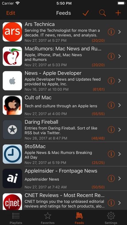 Legi (RSS Feed Reader) screenshot-4