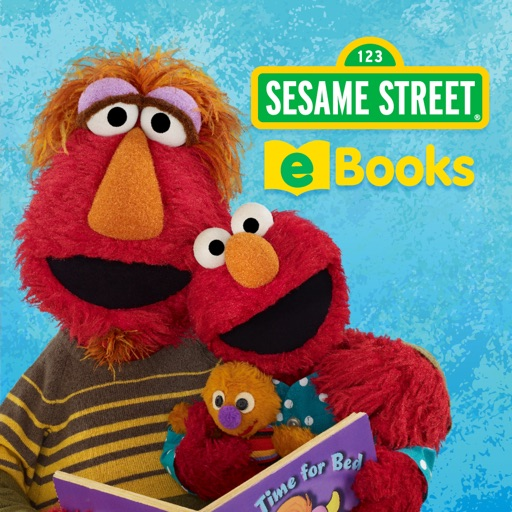 Sesame Street eBooks for iPad icon