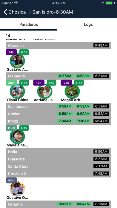 Rutas DriverCaptura de pantalla de3