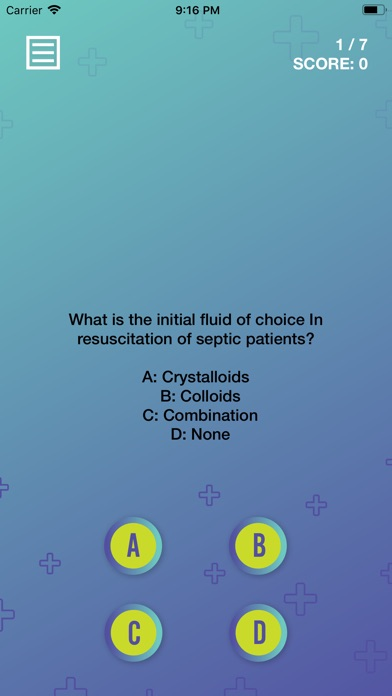 Screenshot for Sepsis Quiz in United States App Store