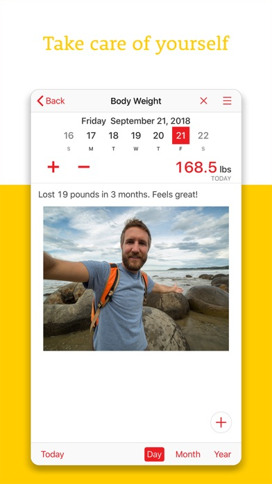 Weight Tracker+ Food JournalScreenshot of 3