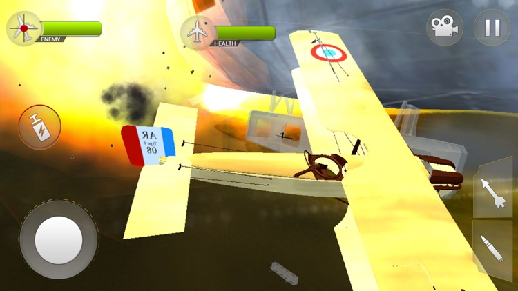 WW2 Airplane Navy Survival