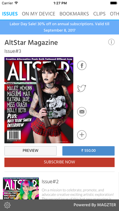 AltStar Magazine screenshot 1