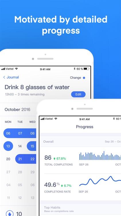Habitify: Habit Tracker screenshot-3