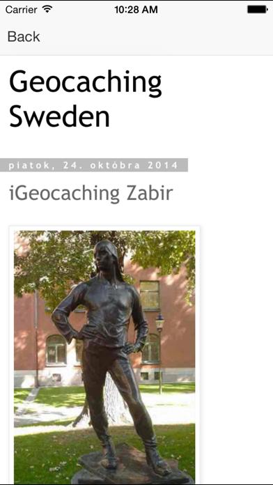 Geocaching Sweden på PC