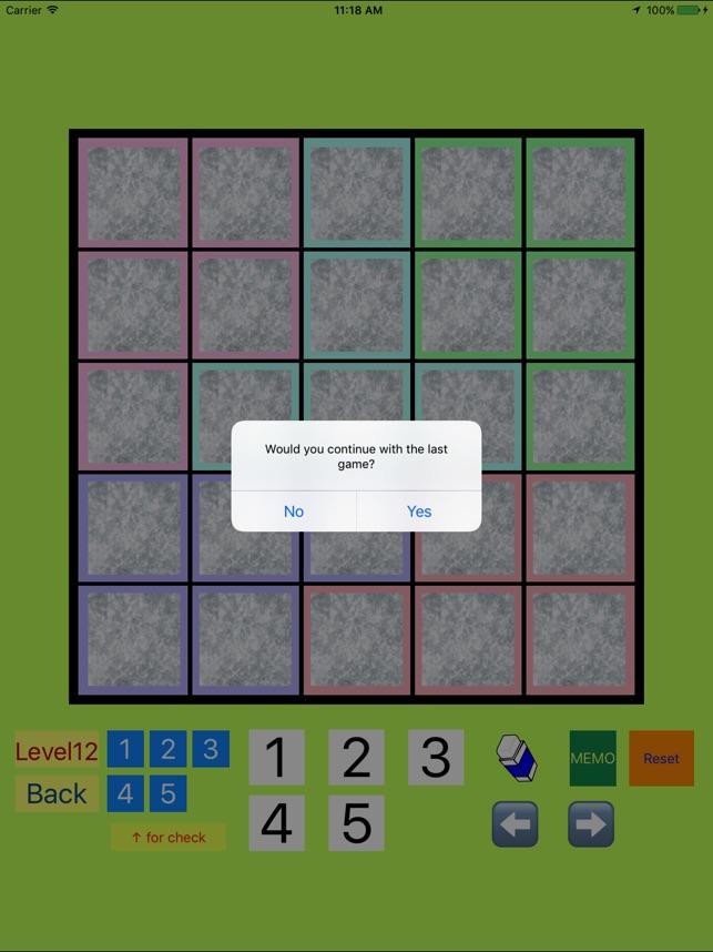 5x5!? Easy SUDOKU Eccentric Version on the App Store