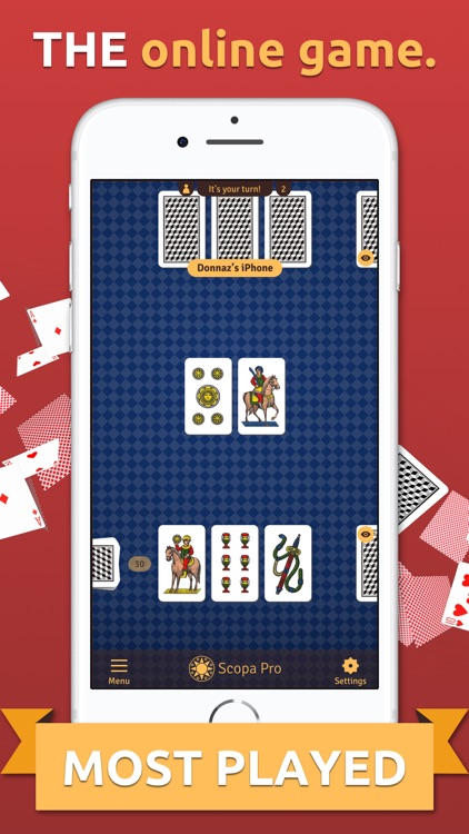 Scopa Pro - THE card game screenshot-1