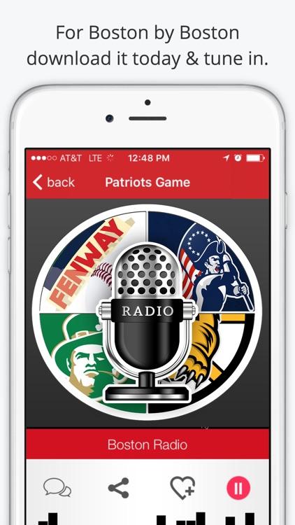 Boston GameDay Radio For Patriots Red Sox Celtics