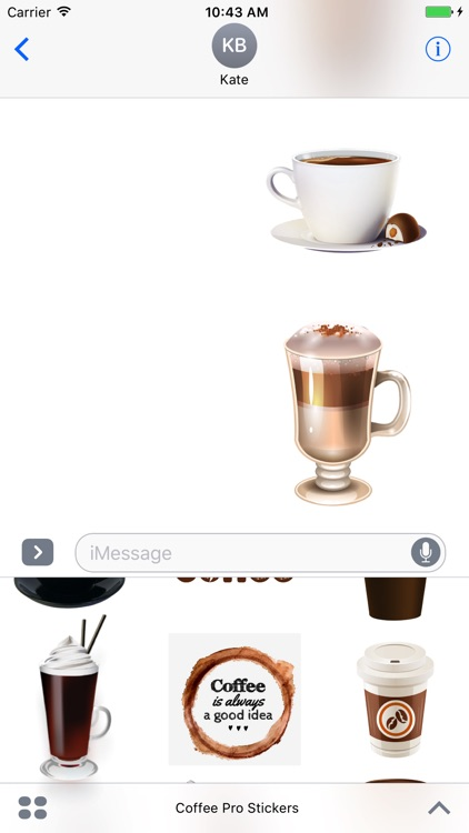 Coffee Pro Stickers screenshot-3