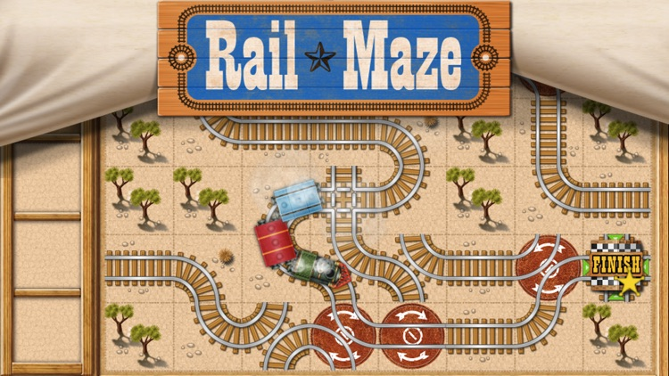 Rail Maze : Train Puzzler screenshot-0