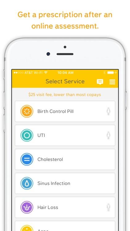 Lemonaid Health – Get a prescription online screenshot-0