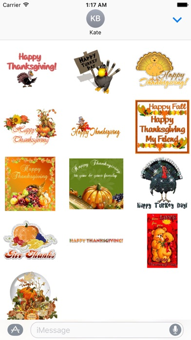 Animated Thanksgiving Day screenshot 2