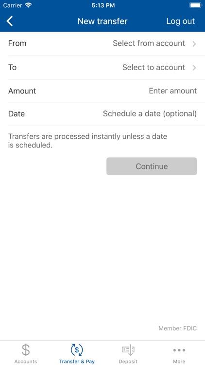 Liberty Bank Mobile Banking screenshot-4