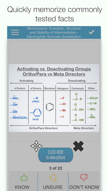 MCAT Organic Chem Cram Cards screenshot-0